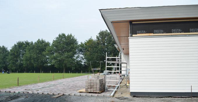 Pflasterung neue Hütte